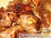 Фото приготовления рецепта: Гусиное жаркое - шаг №4
