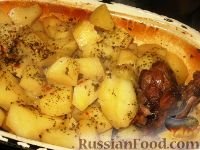 Фото приготовления рецепта: Гусиное жаркое - шаг №6