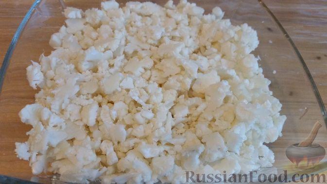 Фото приготовления рецепта: Вегетарианские пельмени с цветной капустой - шаг №3
