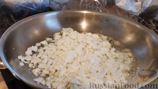 Фото приготовления рецепта: Вегетарианские пельмени с цветной капустой - шаг №4