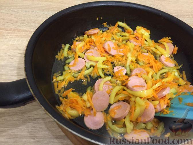 Фото приготовления рецепта: Суп с курицей и тыквенной лапшой - шаг №1