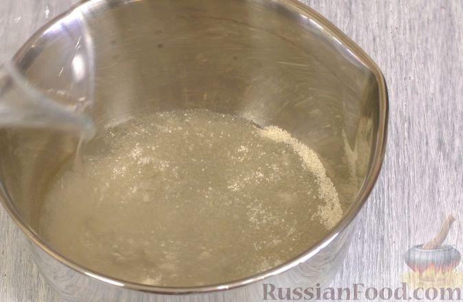 Фото приготовления рецепта: Чизкейк с черешней (без выпечки) - шаг №10