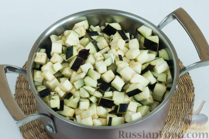 Фото приготовления рецепта: Закрытый пирог из песочного теста с капустной начинкой - шаг №25