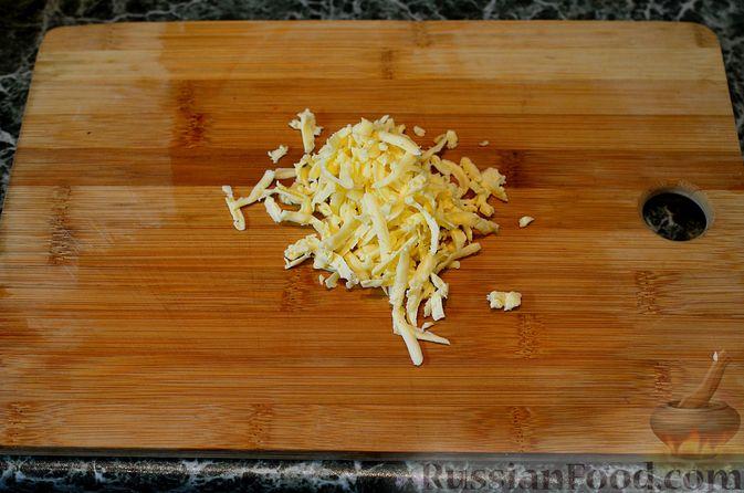 Фото приготовления рецепта: Яблочный тарт с заварным кремом и ореховой корочкой - шаг №34