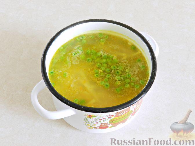 Фото приготовления рецепта: Постные кексики с какао и зелёным чаем - шаг №6