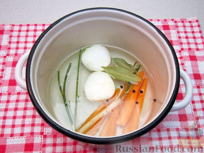 Фото приготовления рецепта: Крем-суп из баклажанов и помидоров с плавленым сыром - шаг №2