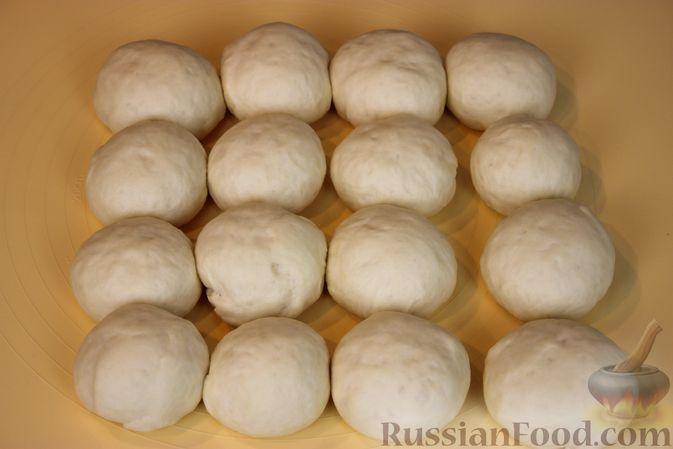 Фото приготовления рецепта: Пирожки с земляникой - шаг №6