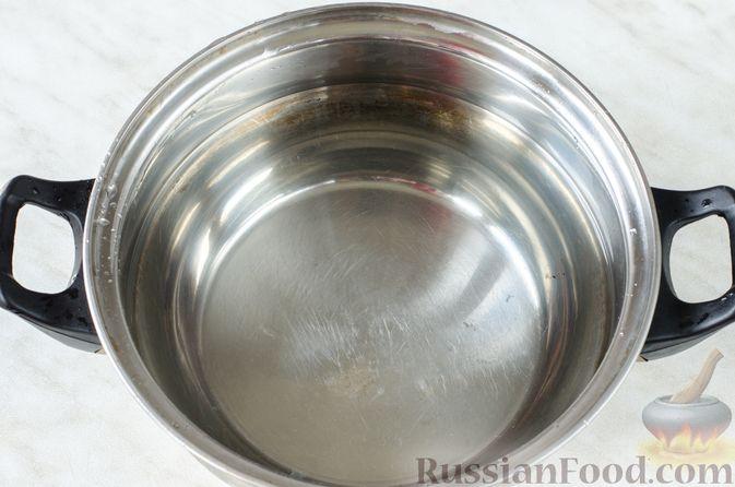 Фото приготовления рецепта: Грибной суп с клецками - шаг №15