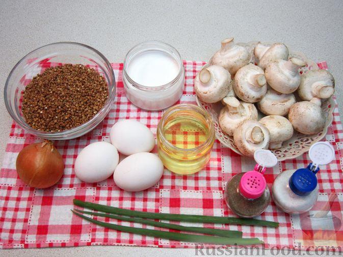 Фото приготовления рецепта: Пюре из перловой крупы и картофеля, с жареным луком - шаг №6