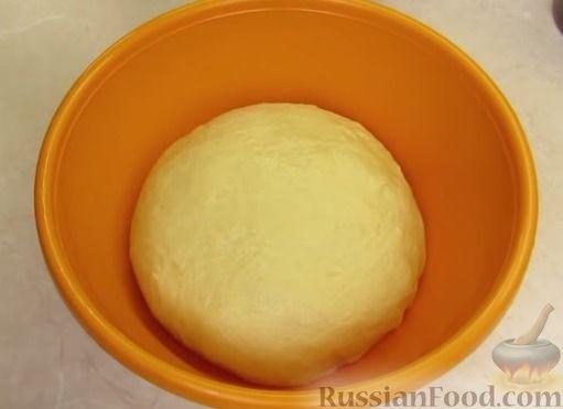 Фото приготовления рецепта: Булочки с клубникой - шаг №7