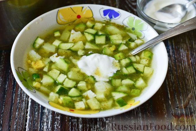Фото приготовления рецепта: Овощной суп с рыбными фрикадельками - шаг №9