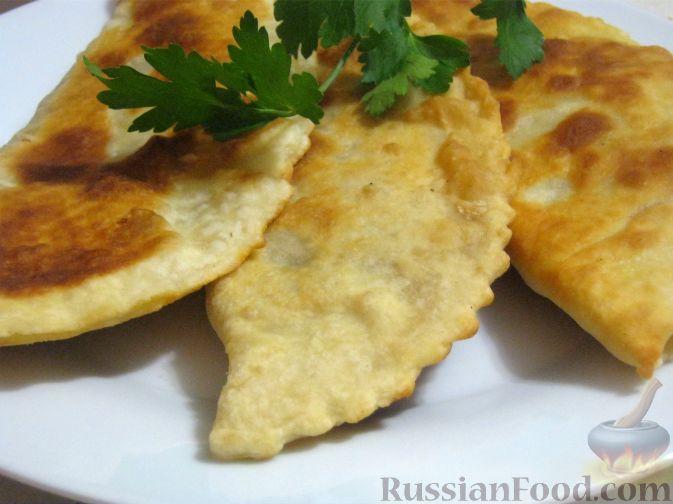 Рецепт Чебуреки на кефире