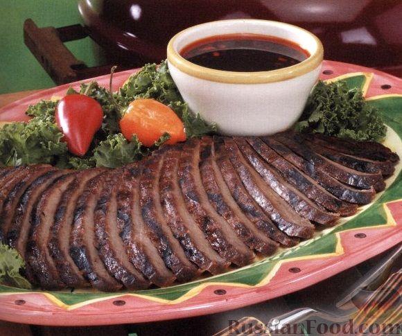 Рецепт Говядина, жаренная на гриле
