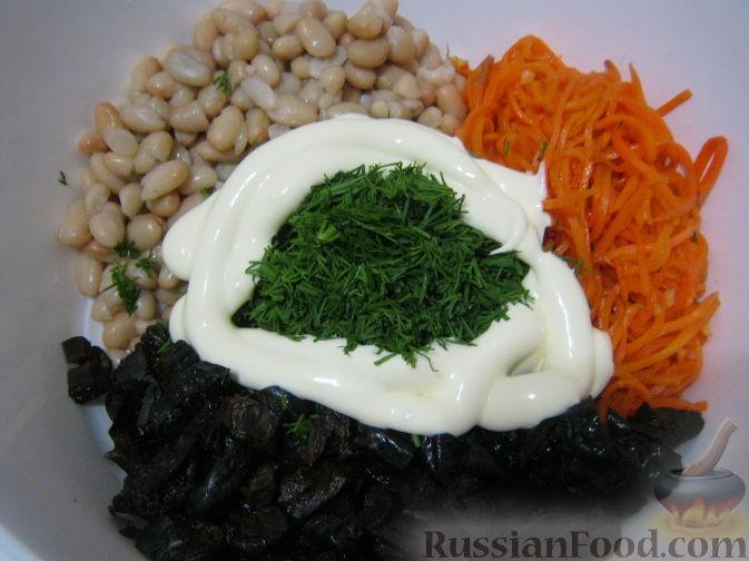 рецепт салата каприз с морковью