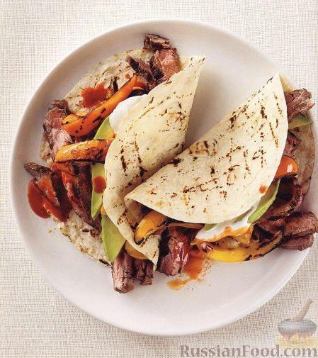 Рецепт Закуска из мяса и овощей, приготовленных на гриле