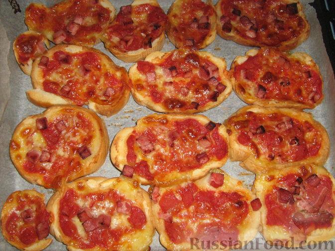 Рецепт Брускетта - пицца