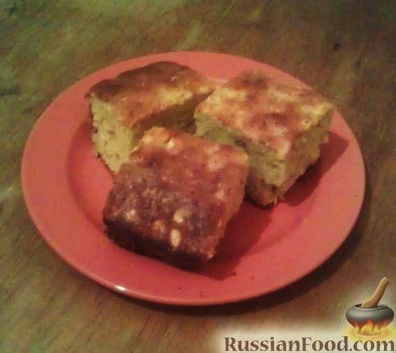 Рецепт Арахисово-яблочный пирог
