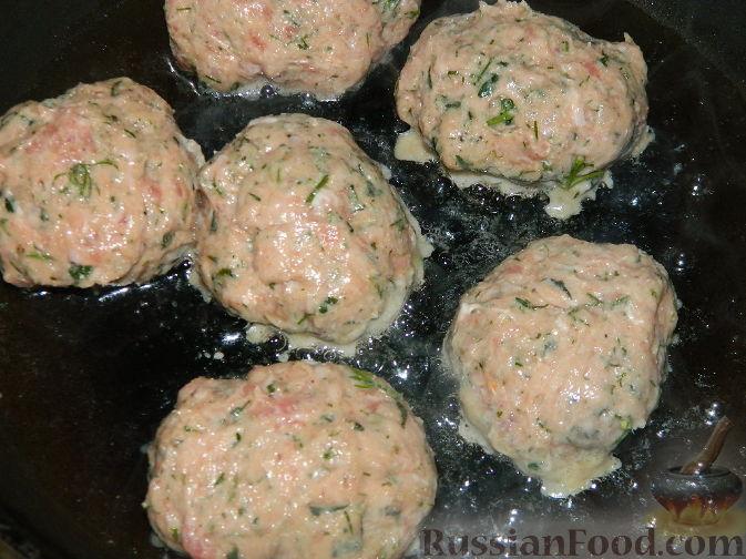 мясные котлеты рецепт с зеленью