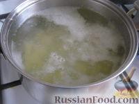 Фото приготовления рецепта: Грибной сливочный суп - шаг №3