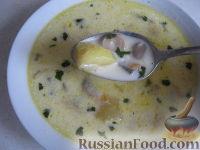 Фото приготовления рецепта: Грибной сливочный суп - шаг №11