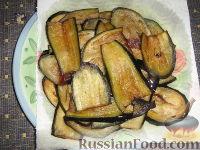 Фото приготовления рецепта: Пармижиана из баклажанов с соусом из базилика и соусом песто - шаг №2