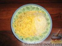 Фото приготовления рецепта: Пармижиана из баклажанов с соусом из базилика и соусом песто - шаг №6