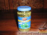 Фото приготовления рецепта: Пармижиана из баклажанов с соусом из базилика и соусом песто - шаг №10