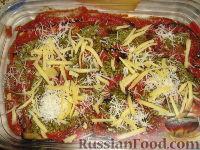 Фото приготовления рецепта: Пармижиана из баклажанов с соусом из базилика и соусом песто - шаг №13