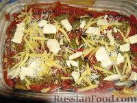 Фото приготовления рецепта: Пармижиана из баклажанов с соусом из базилика и соусом песто - шаг №14