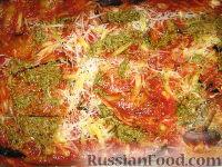 Фото приготовления рецепта: Пармижиана из баклажанов с соусом из базилика и соусом песто - шаг №15