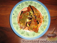 Фото приготовления рецепта: Пармижиана из баклажанов с соусом из базилика и соусом песто - шаг №16