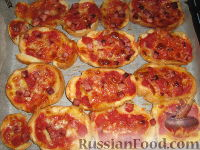 Фото к рецепту: Брускетта - пицца