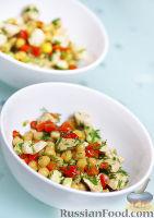 Фото к рецепту: Полезный салат с нутом