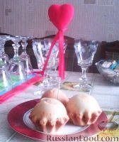 Фото к рецепту: Яблочные кексы