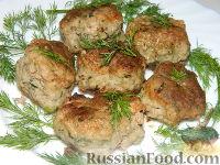 Фото к рецепту: Мясные котлеты с зеленью