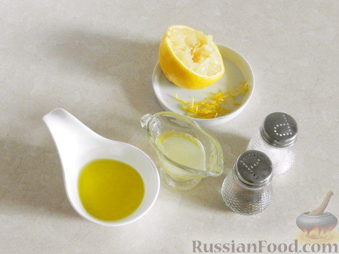 Фото приготовления рецепта: Салат с арбузом, сыром фета и мятой - шаг №2