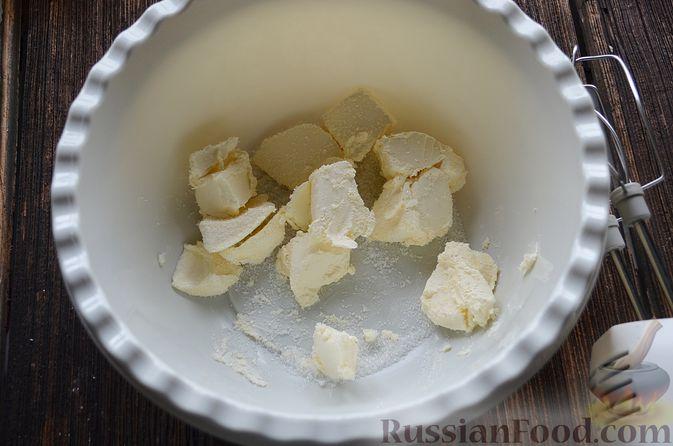 Фото приготовления рецепта: Пирог с нектаринами - шаг №4