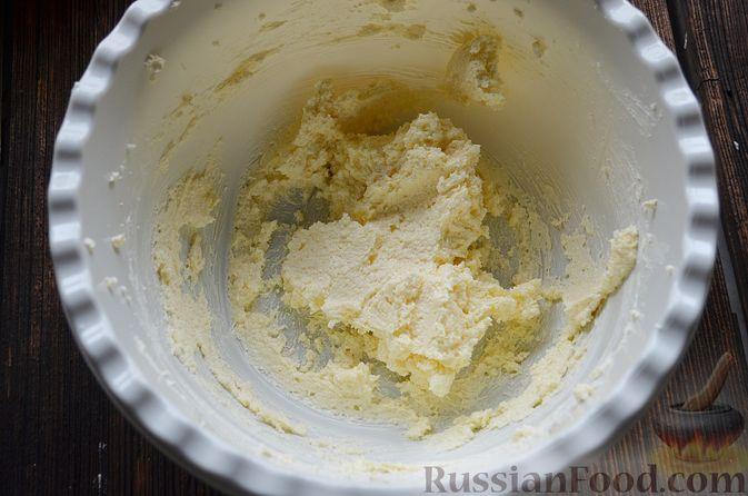 Фото приготовления рецепта: Пирог с нектаринами - шаг №5