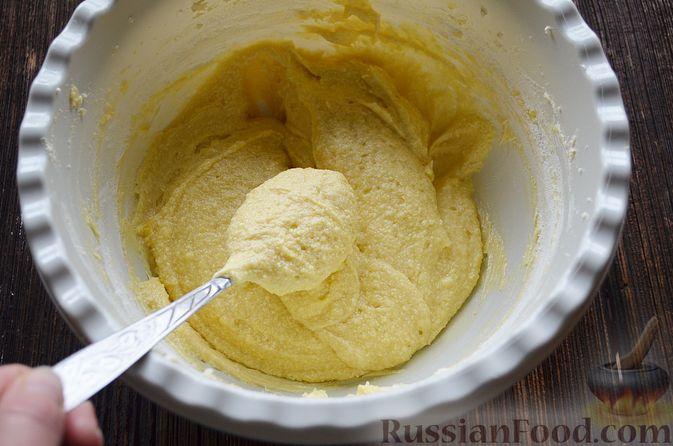 Фото приготовления рецепта: Пирог с нектаринами - шаг №9