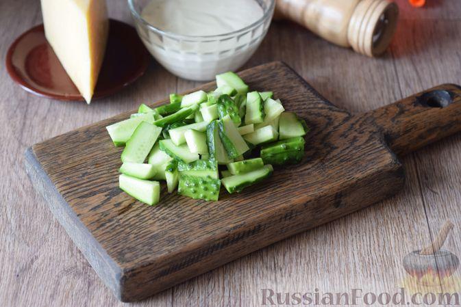 Фото приготовления рецепта: Рассольник с рыбой и рисом - шаг №7
