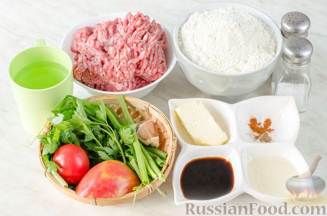 Фото приготовления рецепта: Сосиски в тостовом хлебе (в духовке) - шаг №4