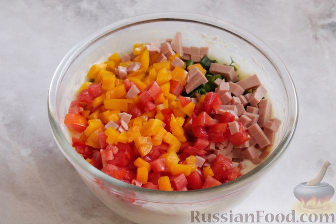 Фото приготовления рецепта: Рыба, запечённая с морковью и яблоками - шаг №3