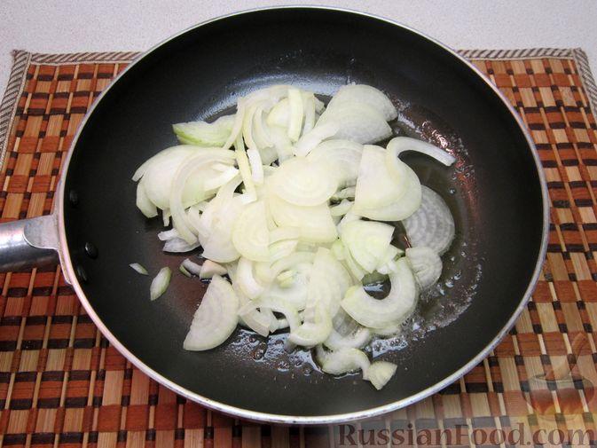 Фото приготовления рецепта: Цитрусовый мусс с манной крупой - шаг №5