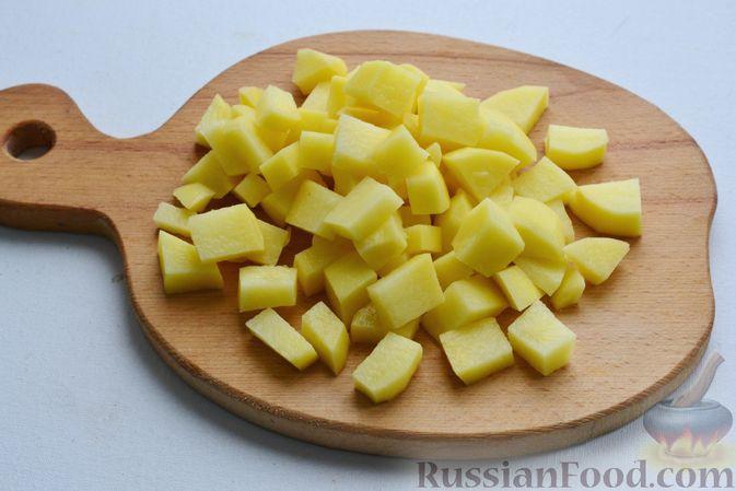 Фото приготовления рецепта: Куриное филе, запечённое в панировке с лимонной цедрой, петрушкой и кунжутом - шаг №3