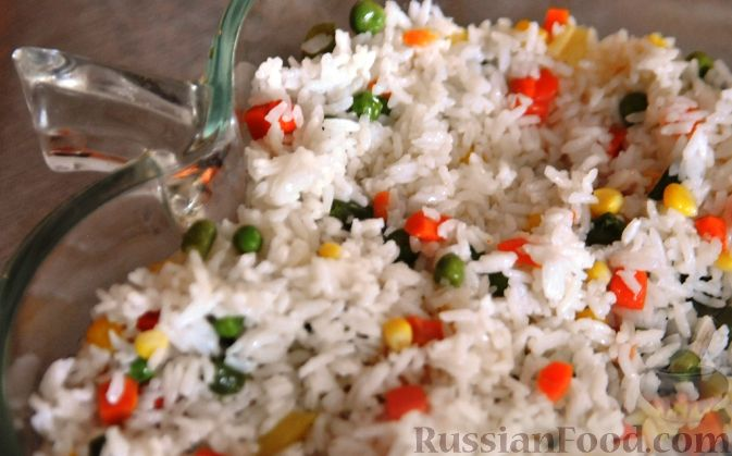 Рецепт Веселый рис