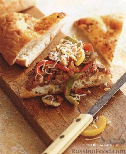Рецепт Бургеры из плоского хлеба