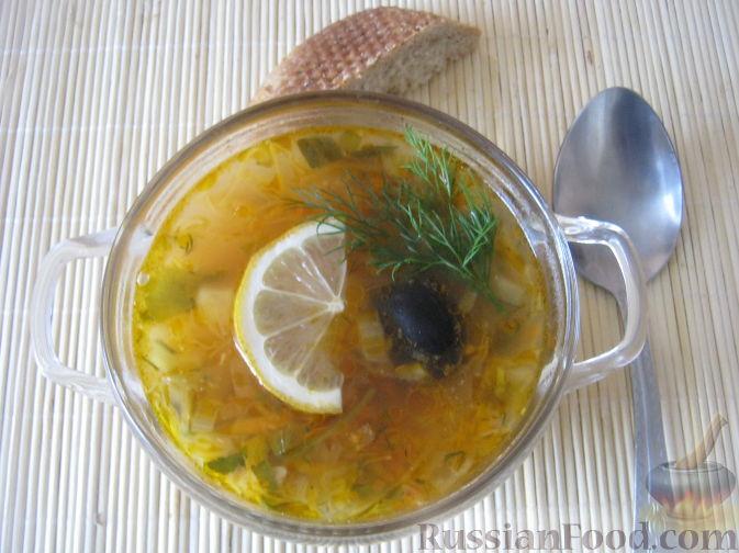 Рецепт Солянка овощная с шампиньонами