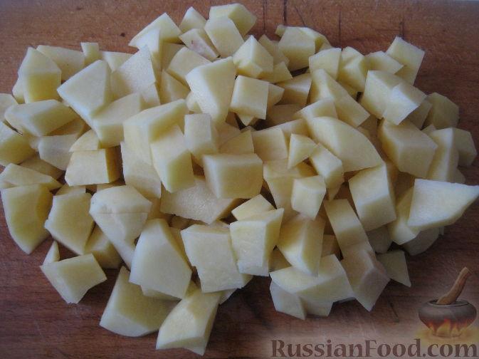 Блюда из картошки с фаршем куриным