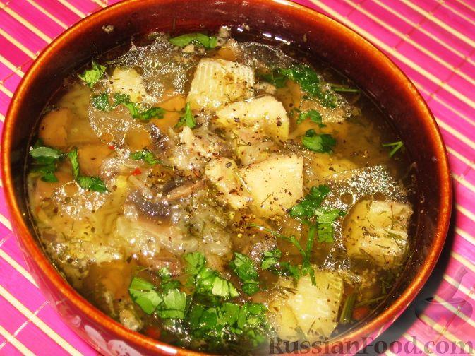 Рецепт Китайский рыбный суп