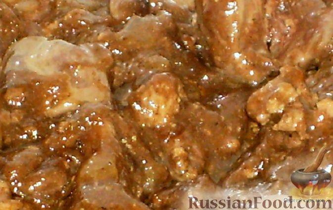 Рецепт Куриная печень по-китайски